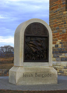 Irish Brigade Monument Gettysburg