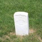 William Barry, 115th New York Infantry. Died 1st June 1864.