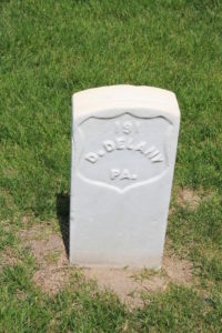 D. Delany. Died 4th June 1864.