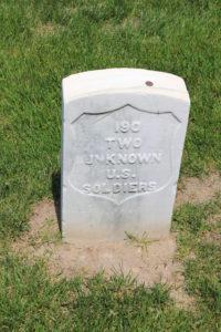 Unknown U.S. Soldiers.