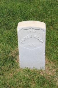 James Ryan, Cold Harbor National Cemetery (Damian Shiels)