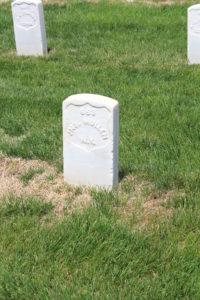 John Mullen, 4th New York Heavy Artillery. Died 9th June 1864.
