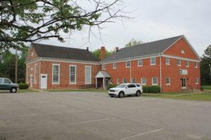 A similar view of Massaponax Church today (Damian Shiels)