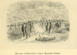 Bivouac of Burnside's Army, Roanoke Island (The Long Roll)