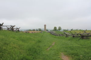 23. Along the Sunken Lane towards the Observation Tower. 'Bloody Lane' was choked with Confederate dead by battle's end.