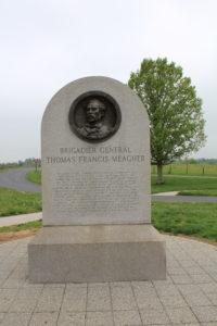 29. Reverse of the Irish Brigade Memorial in the Sunken Lane.