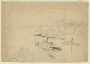 The bend in the James River (Library of Congress)