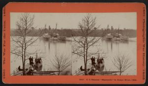 The USS Massasoit on the James (Library of Congress)
