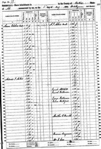 The 1860 Slave Schedule