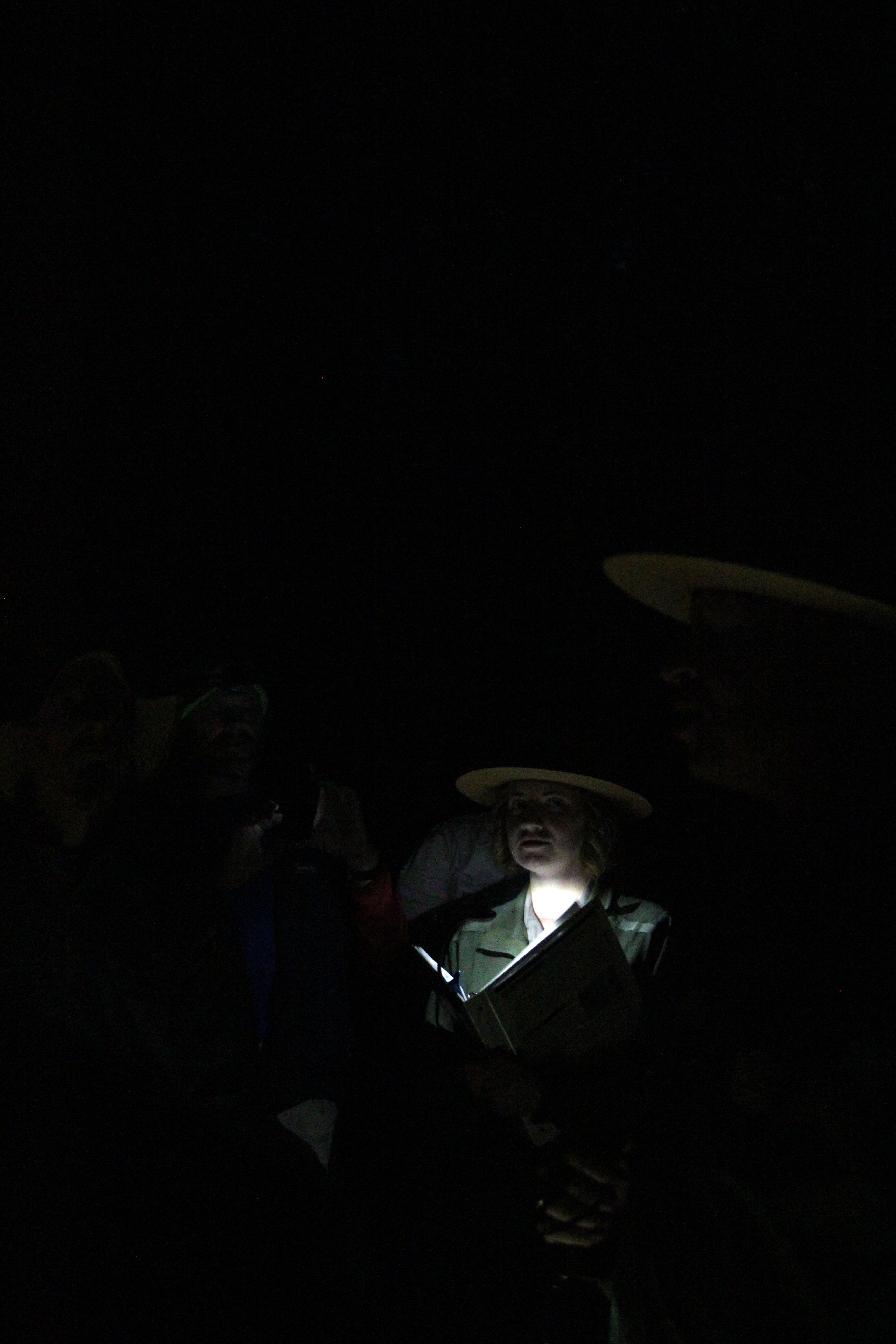 National Park Service Historian Beth Parnicza describes pre-dawn events during the Battle of Spotsylvania 150th anniversary realtime tour, 12th May 2014