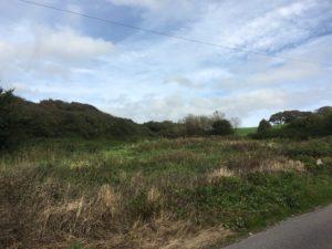 The site of Knockadoon Warren Coastguard Station (Damian Shiels)