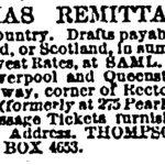 Thompson Christmas Remittances