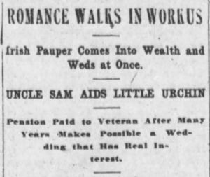 Typical of the type of headlines Marshall's story elicited was this in the Omaha Daily Bee, Nebraska. (Omaha Daily Bee)