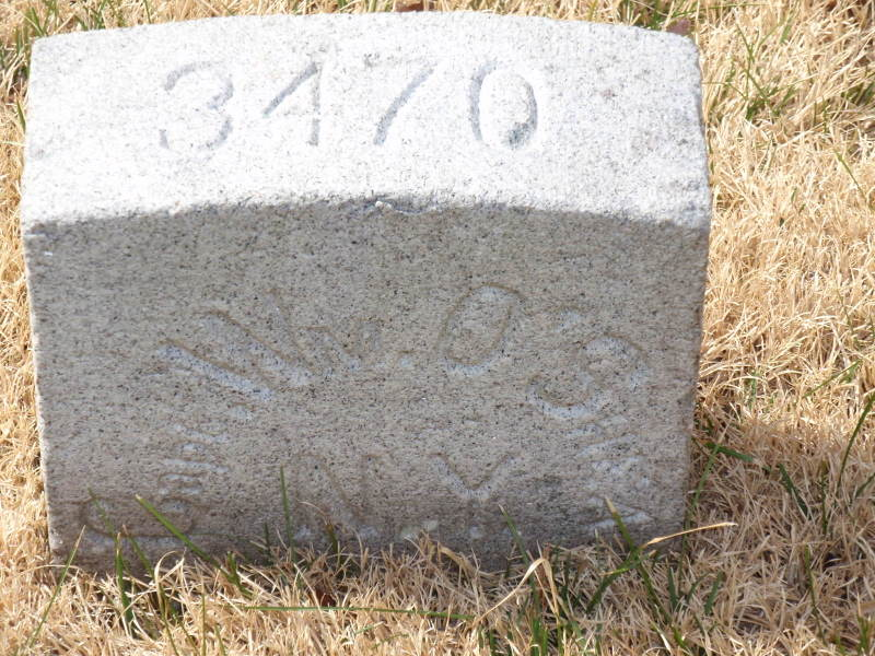 The grave of Captain William O'Shea, Fredericksburg National Cemetery (MVC- Find A Grave)