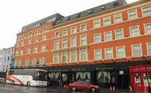 Granville Hotel, The Quays, Waterford. The site of Thomas Francis Meagher's birth