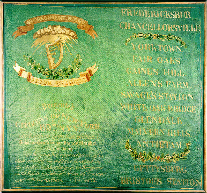 A Civil War Flag For The Irish People Irish In The American Civil War