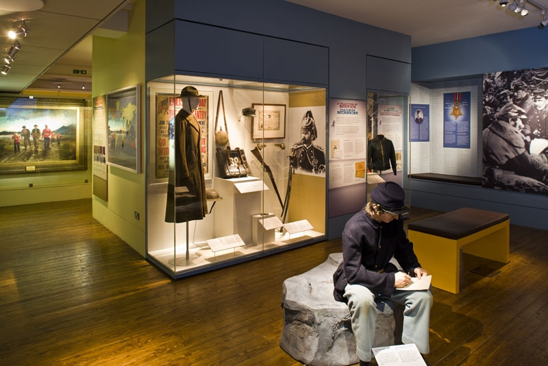 Soldiers & Chiefs Exhibition National Museum of Ireland, with display inspired by the Lieutenant McCarthy letter