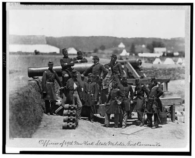 69th Nysm Tour Handouts: Captain James Haggerty 69th N.Y.S.M. And The Battle Of