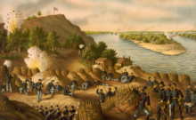 Siege of Vicksburg, 1863 by Kurz and Allison (Library of Congress)