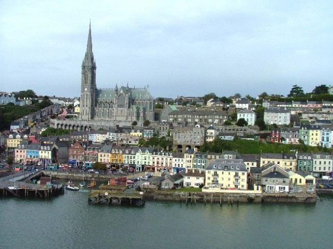 Cobh (formerly Queenstown), Co. Cork. Major emigration port, location of Confederate spies, and port where the USS Kearsarge was accused of illegally recruiting British citizens