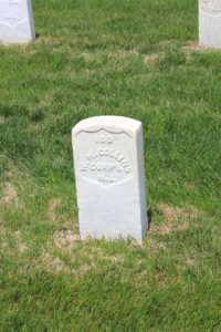 William W. Collins, 12th New Jersey Infantry. Died 3rd June 1864.