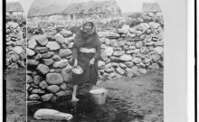 'The hard industry of my own hands': Women like Honora Cleary faced a struggle for survival when their husband's died on the other side of the Atlantic (Library of Congress)