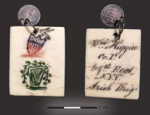 The William Higgins Pendant. Obverse to left, Reverse to right (Arrangement by Sara Nylund after original photograph by Cathy Nicholls)