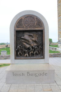 28. Obverse of the Irish Brigade Memorial in the Sunken Lane.