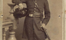 Captain Thomas David Norris, 170th New York Infantry, Corcoran's Irish Legion, and veteran of the 69th New York State Militia at the First Battle of Bull Run. Perhaps the most major advocate of the Irish language to serve during the American Civil War (New York State Military Museum).