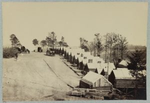 Winter Quarters, Fort Brady (Library of Congress)