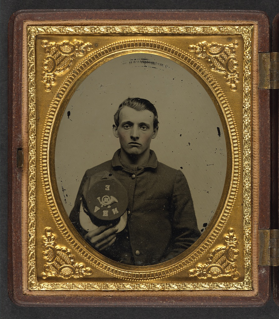 Unidentified New Hampshire Soldier in the Civil War (Library of Congress)