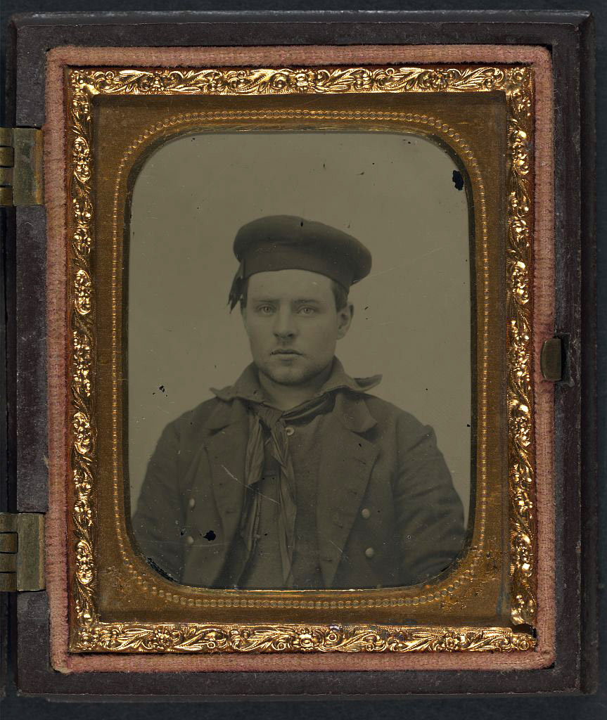 Unidentified Civil War Sailor (Library of Congress)