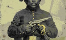 A Native-American soldier in Union uniform during the Civil War (National Park Service)