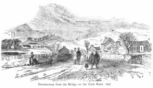 Dunmanway from the Bridge on the Cork Road, 1848