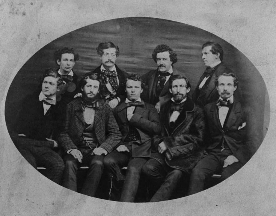 Bryant's Minstrels in 1865