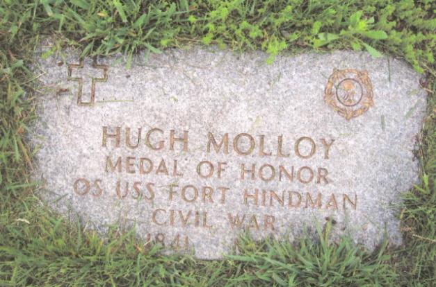Hugh Molloy Memorial (Don Morfe Find A Grave)