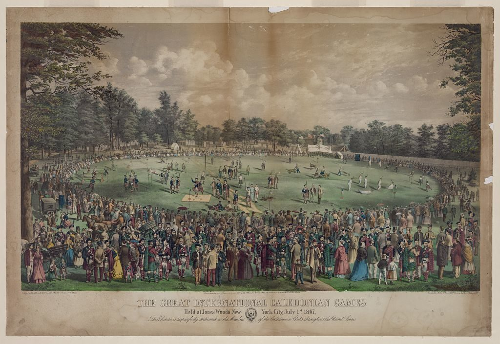 International Caledonian Games 1867