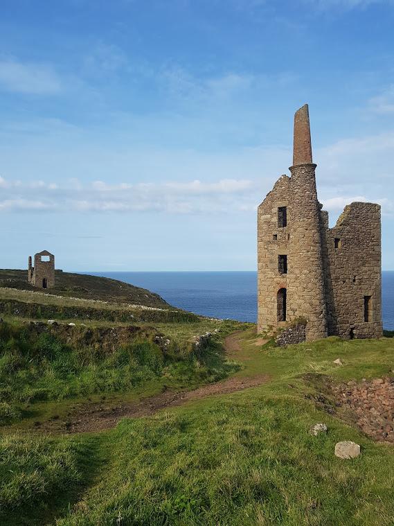 Wheal Owles Engine House, Botallack Mine, Cornwall (Damian Shiels)