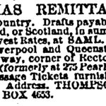 Thompson Christmas Remittances