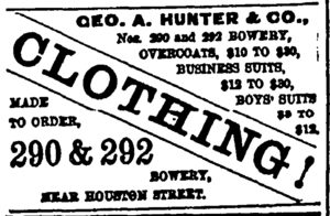 Hunter Clothing