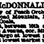 McDonnald Coal