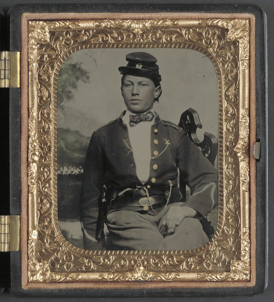 An unidentified soldier of the 26th New York Infantry (Library of Congress)
