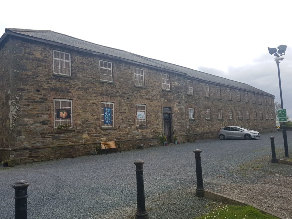 Kilmacthomas Workhouse today (Image: Vivian O'Malley)