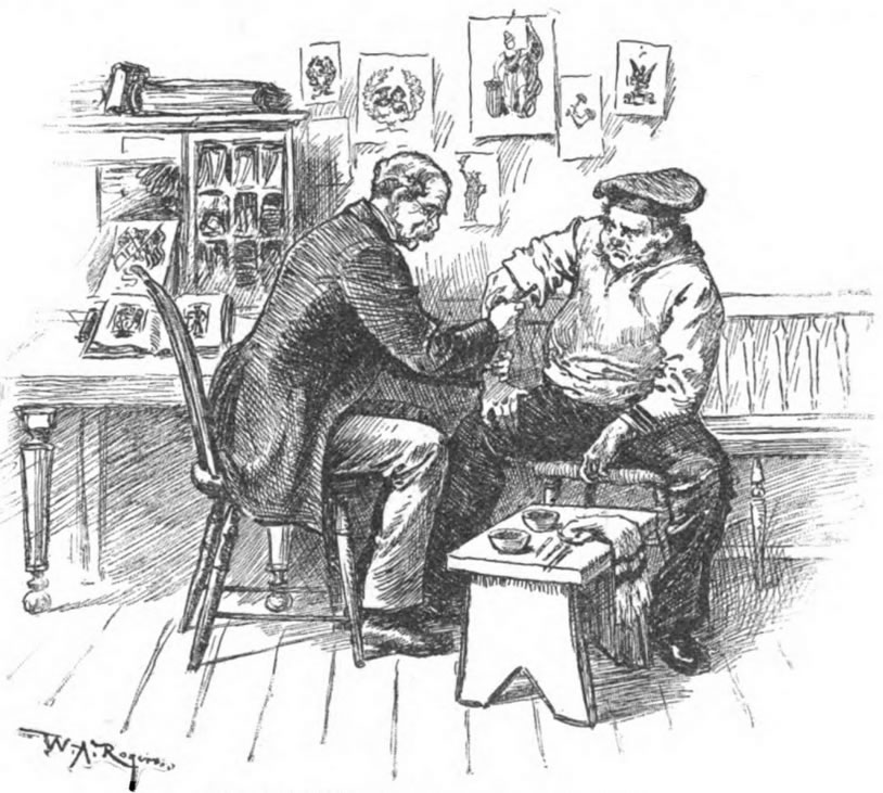 "Martin Hlidebrandt, the ""Professor of Tattooing"" (Harper's Weekly 1889)"