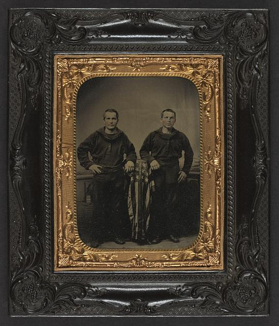 Union sailors during the Civil War (Library of Congress)