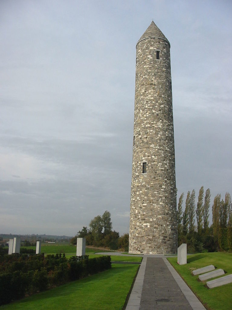 Island of Ireland Peace Park, Messines, Belgium (Donar Reiskoffer via Wikipedia)